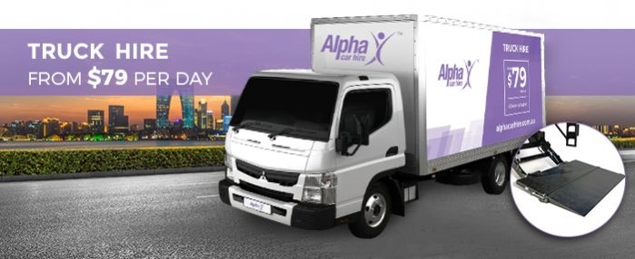 Moving Truck Hire | Alpha Car Hire